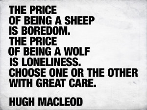 The Price of Being a Sheep